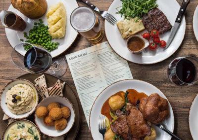 Food to suit all tastes at The Highbury Barn