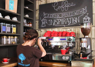 Not just alcohol - try our freshly brewed coffee