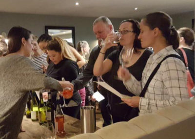 Regular wine tasting events