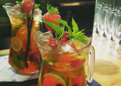 Who's for a Pimm's?